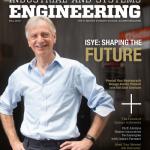 ISyE 2019 Alumni Magazine cover featuring Pascal Van Hentenryck